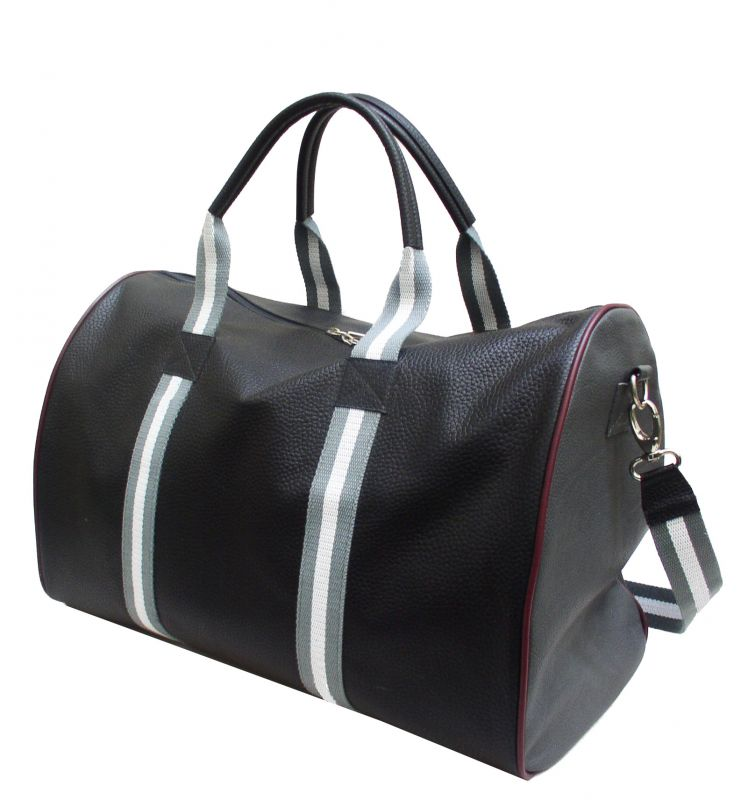 Weekender bunt gemixt aus toskanischem Leder, made in Germany
